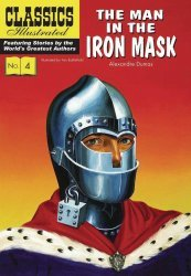 Classics Illustrated's Classics Illustrated: The Man in the Iron Mask Hard Cover # 1