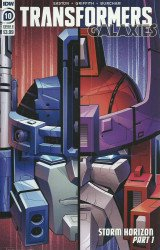 IDW Publishing's Transformers: Galaxies Issue # 10b
