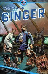 Ahoy Comics's Captain Ginger Issue # 1