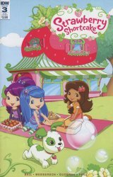 IDW Publishing's Strawberry Shortcake Issue # 3sub