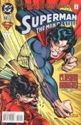 DC Comics's Superman: The Man of Steel Issue # 52
