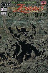 American Mythology's Zorro: Galleon of the Dead Issue # 2b