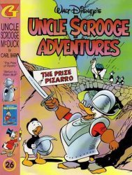 Gladstone's Uncle Scrooge Adventures in Color by Carl Barks Hard Cover # 26