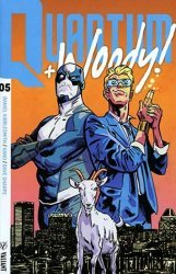 Valiant Entertainment's Quantum & Woody Issue # 5