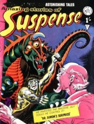 Alan Class & Company's Amazing Stories of Suspense Issue # 106