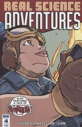 IDW Publishing's Atomic Robo Presents: Real Science Adventures Issue # 4