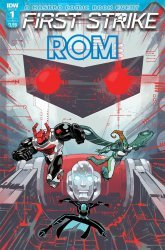 IDW Publishing's ROM: First Strike Issue # 1
