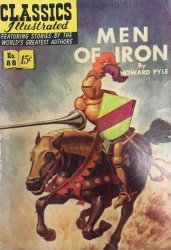 Gilberton Publications's Classics Illustrated #88: Men of Iron Issue # 1b