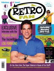 TwoMorrows Publishing's RetroFan Issue # 1