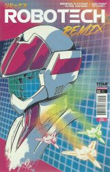 Titan Comics's Robotech Remix Issue # 2c