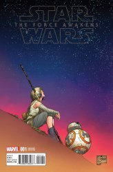 Marvel's Star Wars: Episode VII: The Force Awakens Adaptation Issue # 1c