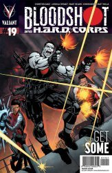 Valiant Entertainment's Bloodshot and H.A.R.D. Corps Issue # 19b