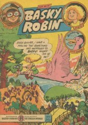 3-D Cosmic Publications's Fun with Basky and Robin Issue # 9