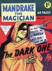 L. Miller & Son's Mandrake the Magician Issue # 10