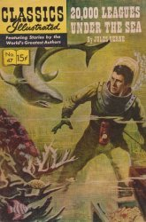 Gilberton Publications's Classics Illustrated #47: Twenty Thousand Leagues Under the Sea Issue # 12