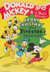 Disney Comics's Donald and Mickey: Merry Christmas Issue # 1945