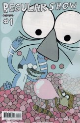 kaboom!'s Regular Show Issue # 1e