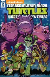 IDW Publishing's Teenage Mutant Ninja Turtles: Amazing Adventures Issue # 10