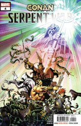 Marvel Comics's Conan: Serpent War Issue # 4