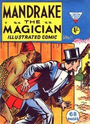 L. Miller & Son's Mandrake the Magician Issue # 2