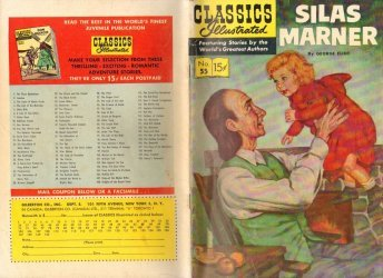 Gilberton Publications's Classics Illustrated #55: Silas Marner Issue # 1e