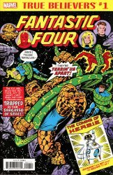 Marvel Comics's True Believers: Fantastic Four - The Coming Of H.E.R.B.I.E. Issue # 1