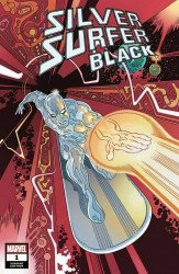 Marvel Comics's Silver Surfer: Black Issue # 1clover