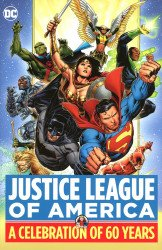 DC Comics's Justice League of America: A Celebration of 60 Years Hard Cover # 1