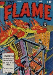 Fox Publications's The Flame Issue # 8