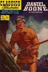 Gilberton Publications's Classics Illustrated #96: Daniel Boone Issue # 2