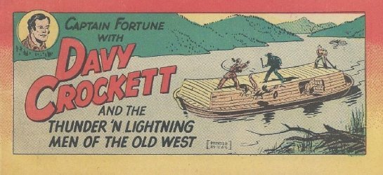 Vital Publications's Captain Fortune with Davy Crockett and the Thunder 'n Lightning Men of the Old West Issue nn