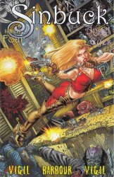 Wild Angels Publishing's Sinbuck : Angel Eyes Issue # 4