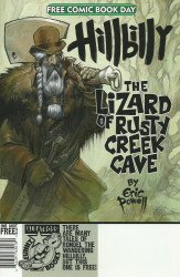 Albatross Exploding Funny Book's Hillbilly: Lizard of Rusty Creek Cave Issue fcbd