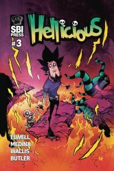 Starburns Industries Press's Hellicious Issue # 3