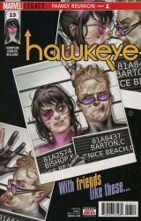 Marvel Comics's Hawkeye Issue # 13