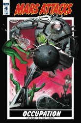 IDW Publishing's Mars Attacks: Occupation Issue # 4b