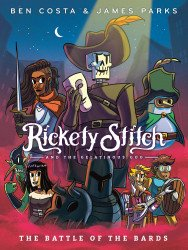Knopf Publishing's Rickety Stitch and The Gelatinous Goo  Hard Cover # 3