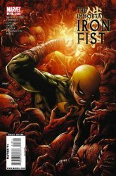 Marvel Comics's The Immortal Iron Fist Issue # 23