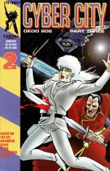 CPM Manga's Cyber City: OEDO 808 Issue # 2