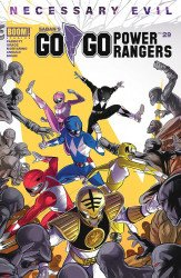 BOOM! Studios's Saban's Go Go Power Rangers Issue # 29