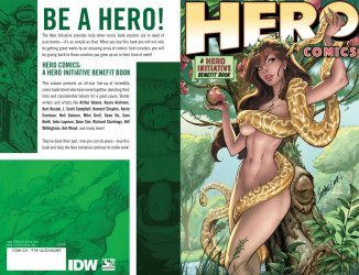 IDW Publishing's Hero Comics: Hero Initiative Benefit Book TPB # 1