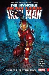 Marvel Comics's Invincible Iron Man: The Search For Tony Stark TPB # 1