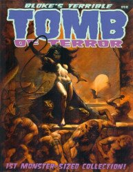 Hoffman & Crawley's Bloke's Terrible Tomb of Terror: Monster-Sized Collection Soft Cover # 1
