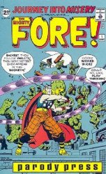 Parody Press's Incredible Punk / Mighty Fore Issue # 1b
