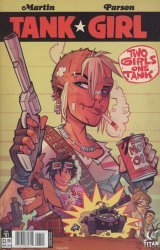 Titan Comics's Tank Girl: Two Girls One Tank Issue # 1b