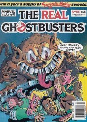 Marvel UK's The Real Ghostbusters Issue # 155