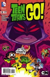 DC Comics's Teen Titans Go! Issue # 5
