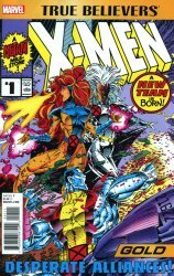 Marvel Comics's True Believers: X-Men Gold Issue # 1