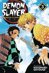 Viz Media's Demon Slayer: Kimetsu No Yaiba Soft Cover # 3