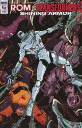 IDW Publishing's ROM vs Transformers: Shining Armor Issue # 4